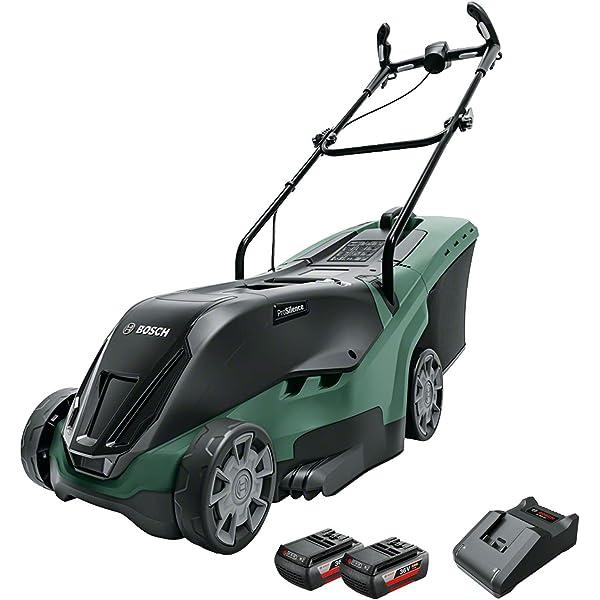 Bosch Home and Garden 06008A4409 Cortacésped con batería de ...