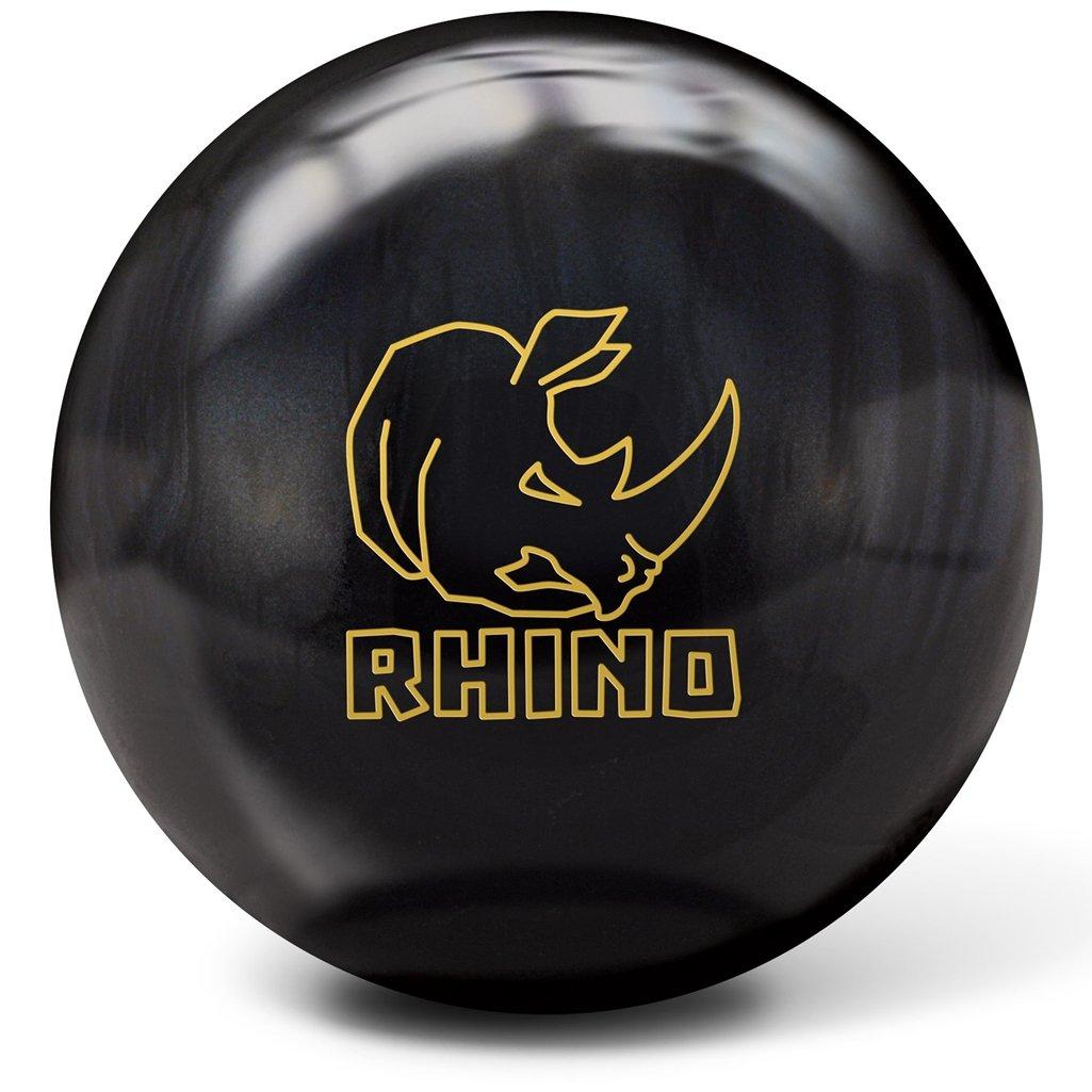 Brunswick Rhino Bowling Ball, Black Pearl, 14 lb