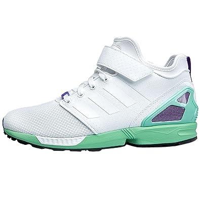 adidas Originals ZX Flux NPS Mid B34460 Damen Schuhe Sneaker Freizeit Turnschuhe Weiszlig;