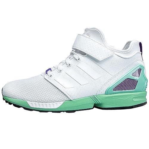 073d17975c864 adidas - ZX Flux NPS Mid Zapatos - FTWR White - 40  Amazon.es  Zapatos y  complementos