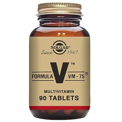 Solgar Fórmula VM-75-90 Tabletas