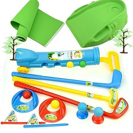 BGROEST-SP Golf para niños Juego de Juguete de Golf para ...
