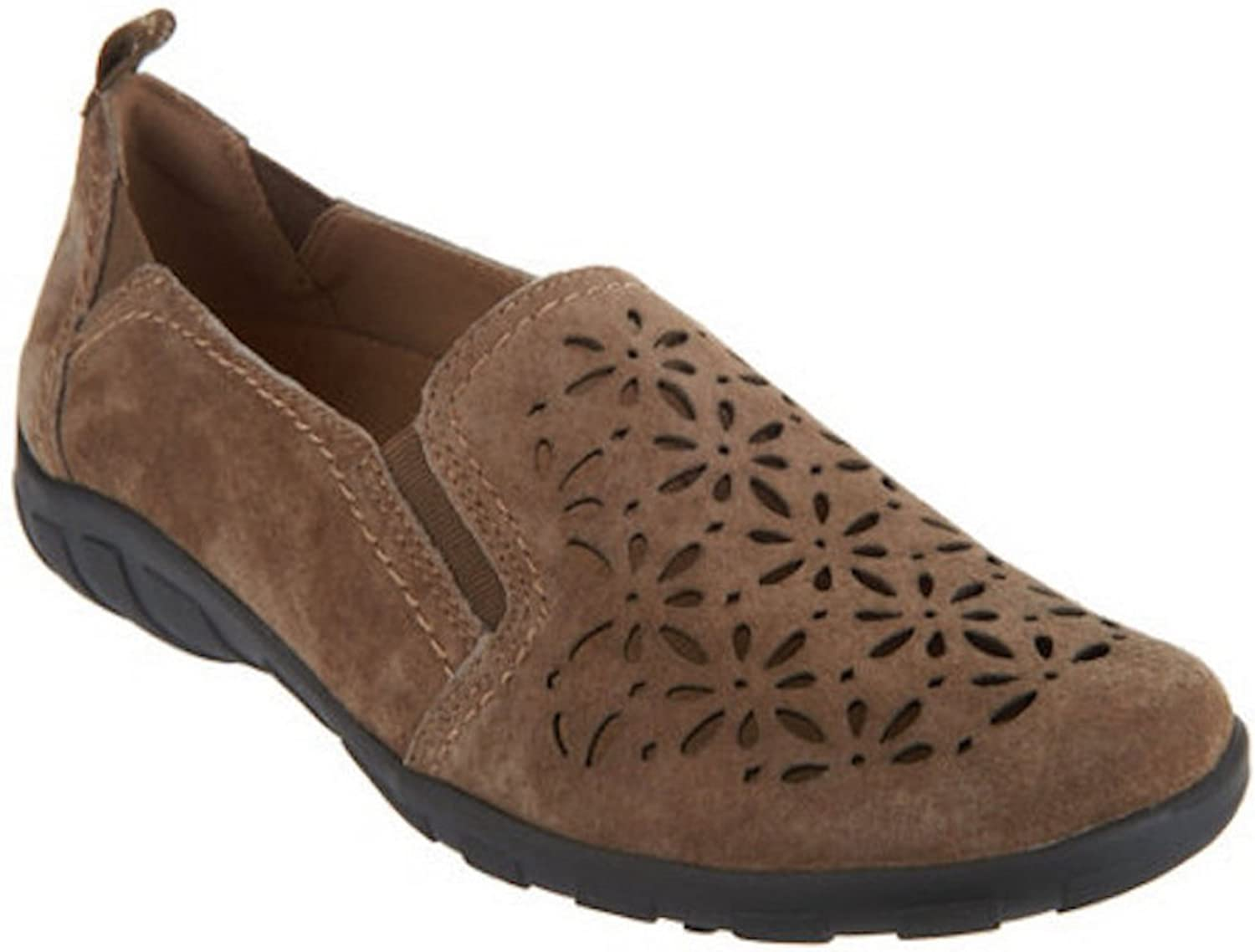 d3529512133d Earth Origins Rikki Suede Perforated Slip On Shoes. 6(M) US