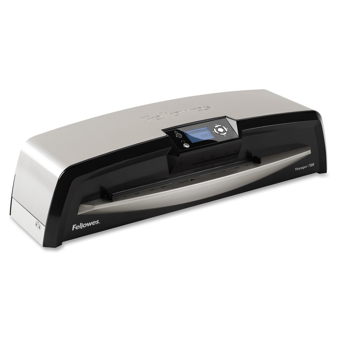 Fellowes Laminator Voyager 125, Automatic Features, Jam Free Laminating Machine, with Laminating Pouches Kit (5218601)