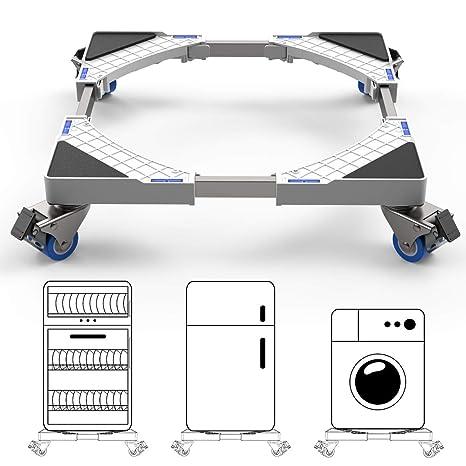 Dewel Base Móvil Ajustable 44.8~69cm para Lavadora Multifuncional ...