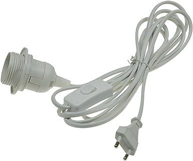 ChiliTec Netzkabel mit Schalter und E27 Fassung