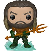 Funko 31177 Pop Heroes: Aquaman - Arthur Curry in Hero Suit Collectible Figure, Multicolor