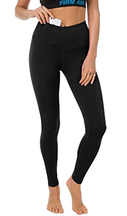 1eb3fdc84c1bc FIRM ABS Women's Fitness Leggings Workout Ankle-Length Yoga Pants Sportwear  Black XS