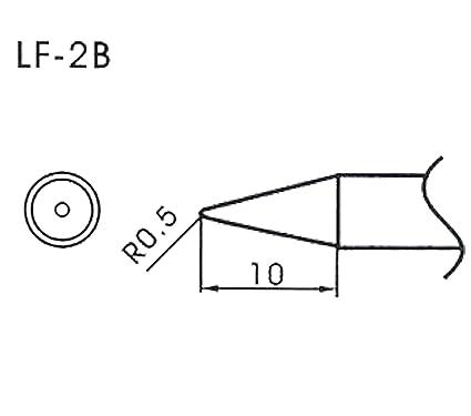 AOYUE WQ/LF-2B Puntas soldadura sin plomo cónico R0.5mm Estación de