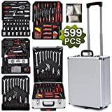 Yaheetech-Fabulous-599pcs-Mechanic-Kit-Box-Case-Toolbox-Trolley