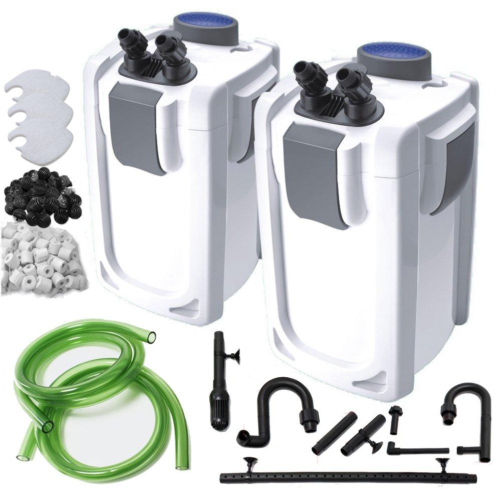 HW-702A (1000lph) Finest-Filters Aquarium External Canister Filter for Fish Tank 1000   1400   2000lph (HW-702A (1000lph))