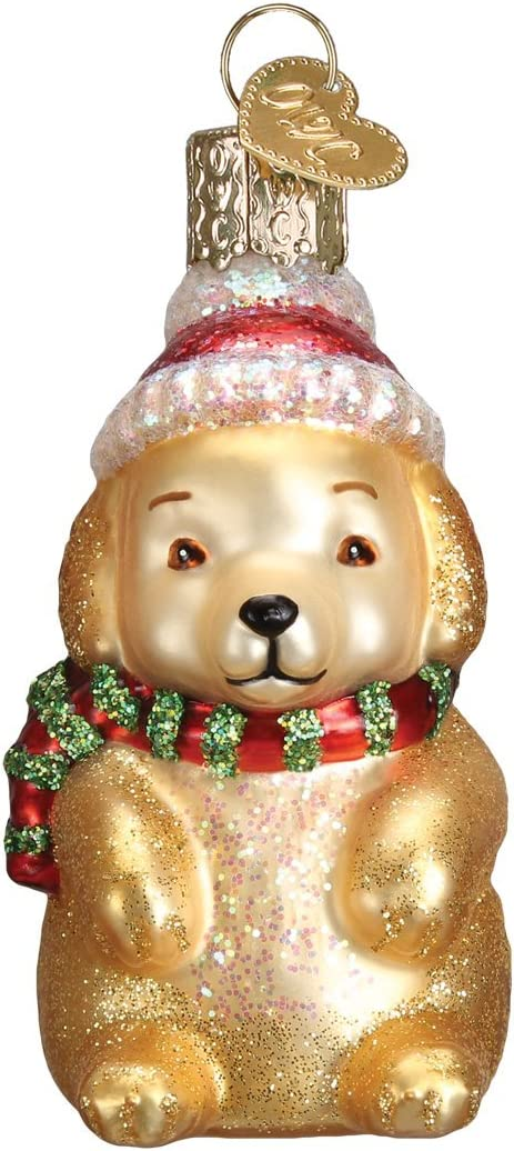 Old World Christmas Dog Collection Glass Blown Ornaments for Christmas Tree Westie