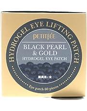 PETITFEE Black Pearl & Gold Hydrogel Eye Patch - 60 sheet by Petitfee