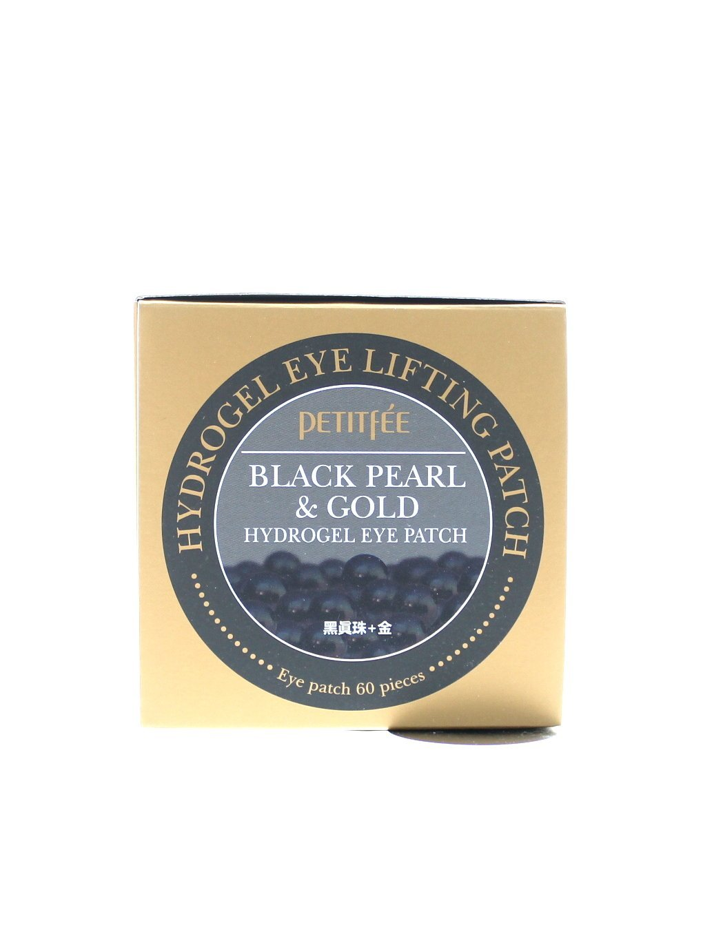 Petitfee Black Pearl and Gold Hydrogel Eye Patch, 60 Sheet petitfee-BlackPearlGold