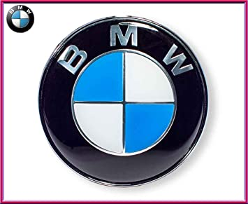 Dunwoth - Emblema BMW Adhesivo, 82 mm