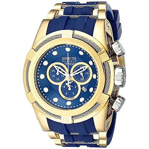 Invicta Men's 14405 Bolt Analog Display Swiss Quartz Blue Watch