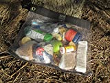 """GRUBPACK Rodent and Mouse RESISTANT Hiking FOOD BAG 15"""" by 18"""" weighs 8 oz. Strong and Durable Stainless Steel Mesh will keep your backpacking food SAFE! Worry-free Outdoor Food Protection! offers"""
