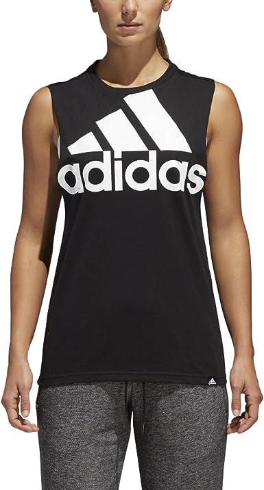 adidas Womens Athletics Badge of Sport Muscle Tank