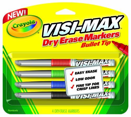 Crayola Erase Markers Count Visimax