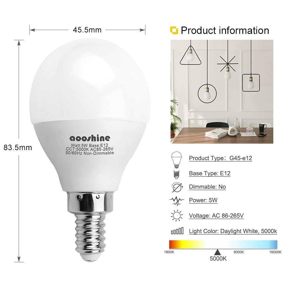 EIKO 6S6//155V 155V 6W S-6 Candelabra Base 2pks of 10 20 bulbs