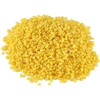 Puro Natural pastillas de cera de abeja amarillo cosméticos materiales para hecho a mano para hacer jabón 50g