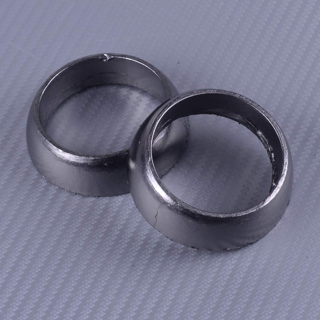 2pcs Twin Exhaust Donut Seal Gasket Fit for Polaris Sportsman 600 700 800 3610047