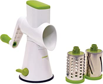 Starfrit Green/White Rotary Cheese Grater
