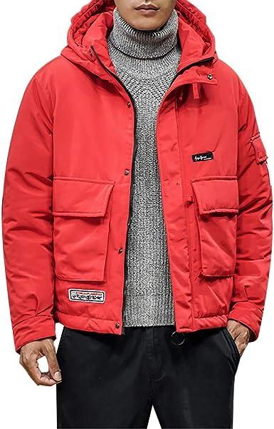 Men/'s Winter Warm Sweatshirt Coat Jacket Sweater Hoodie Hooded Palace Pullover