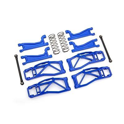 Traxxas Blue WideMaxx Suspension Kit TRA8995X: Toys & Games