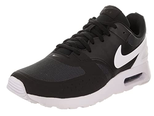 reputable site 81bde d5bbd Nike Men s Air Max Vision Black White Anthracite Running Shoe 9 Men US