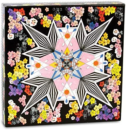Christian Lacroix Flowers Galaxy Double Sided 500 Piece Jigsaw Puzzle