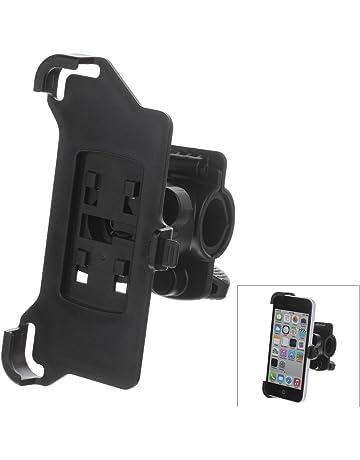 EBS M01 360 Grados de Rotación de Soporte con Abrazadera para iPhone 5C - Negro