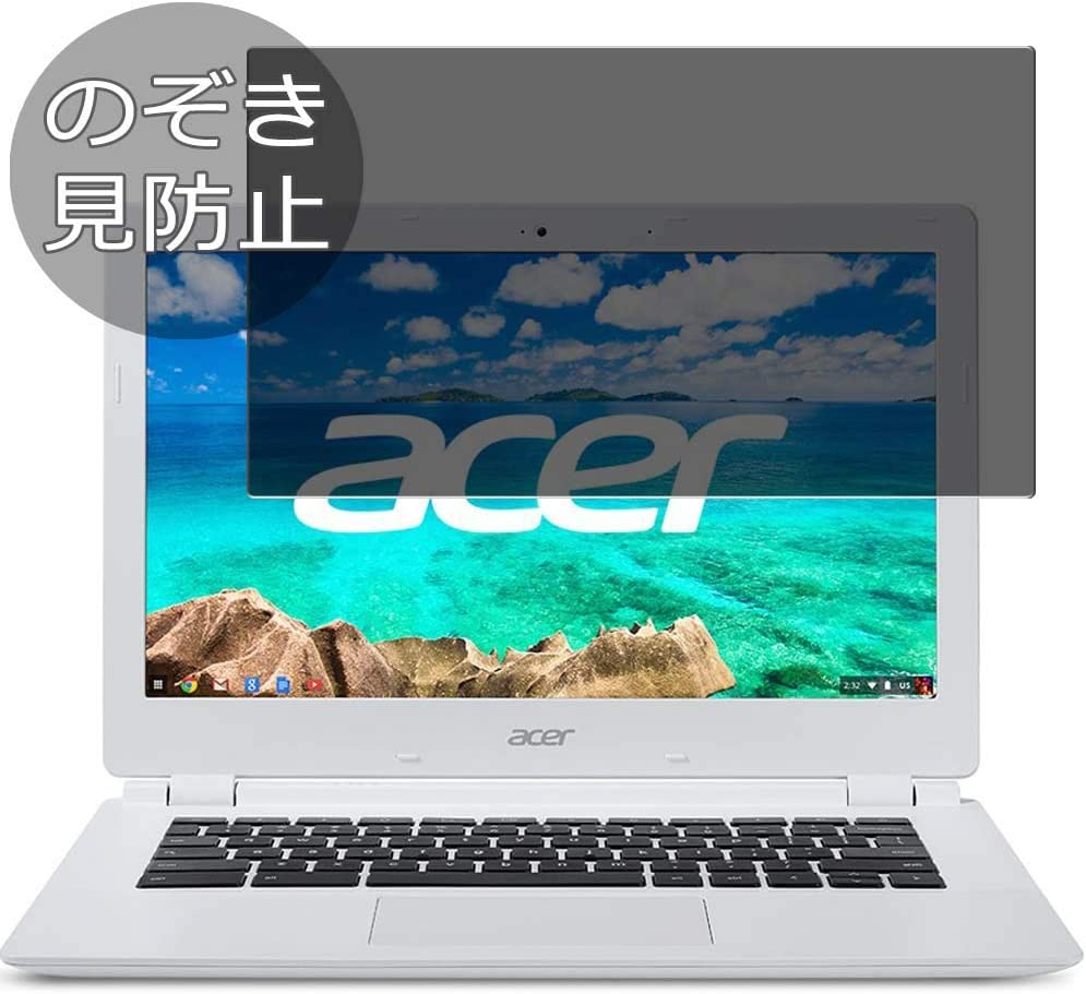 """Synvy Privacy Screen Protector Film for Acer Chromebook CB3-111-H14M 11.6"""" Anti Spy Protective Protectors [Not Tempered Glass]"""