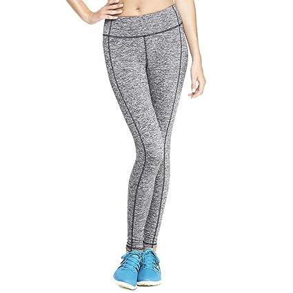 PFMY.DG Cintura Alta Pantalones de Yoga Polainas De Las ...