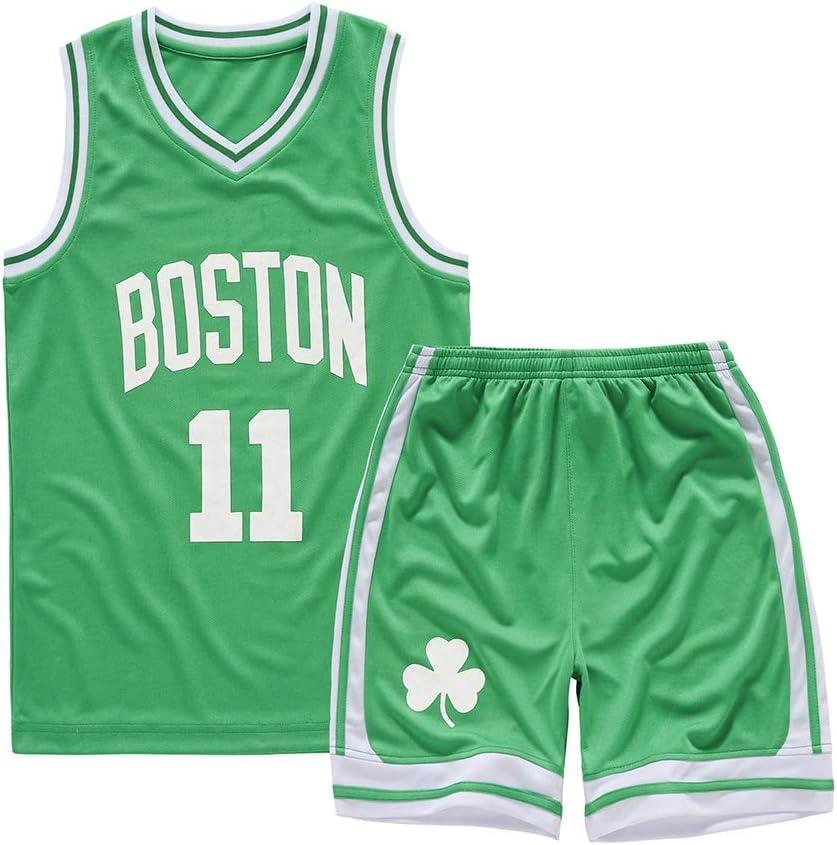 SXXRZA Uniforme de Basket Junior, Durant Curry Jordan Irving
