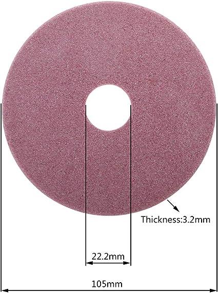 Rtengtunn Elektrischer Kettens/ägensch/ärfer Diamantschleifscheibe 98//105 145mm Dicke 3,2//4,5mm Schneide und Polierkettens/ägez/ähne 145X22.2X3.2mm