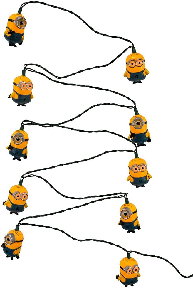 Kurt Adler 10-Light Despicable Me String Lights Set
