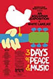Woodstock - Concert Poster Poster Print (60.96 x 91.44 cm)