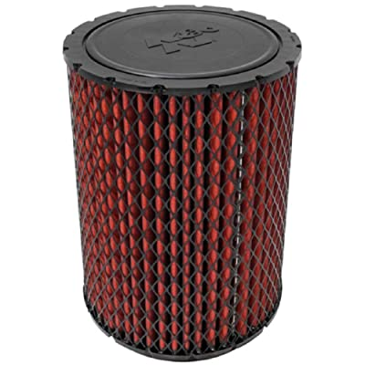 K&N Engine Air Filter: High Performance, Premium, Washable, Industrial Replacement Filter, Heavy Duty: 38-2026S: Automotive