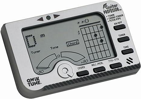 Qwik Tune GP1 - Afinador para guitarra: Amazon.es: Instrumentos ...