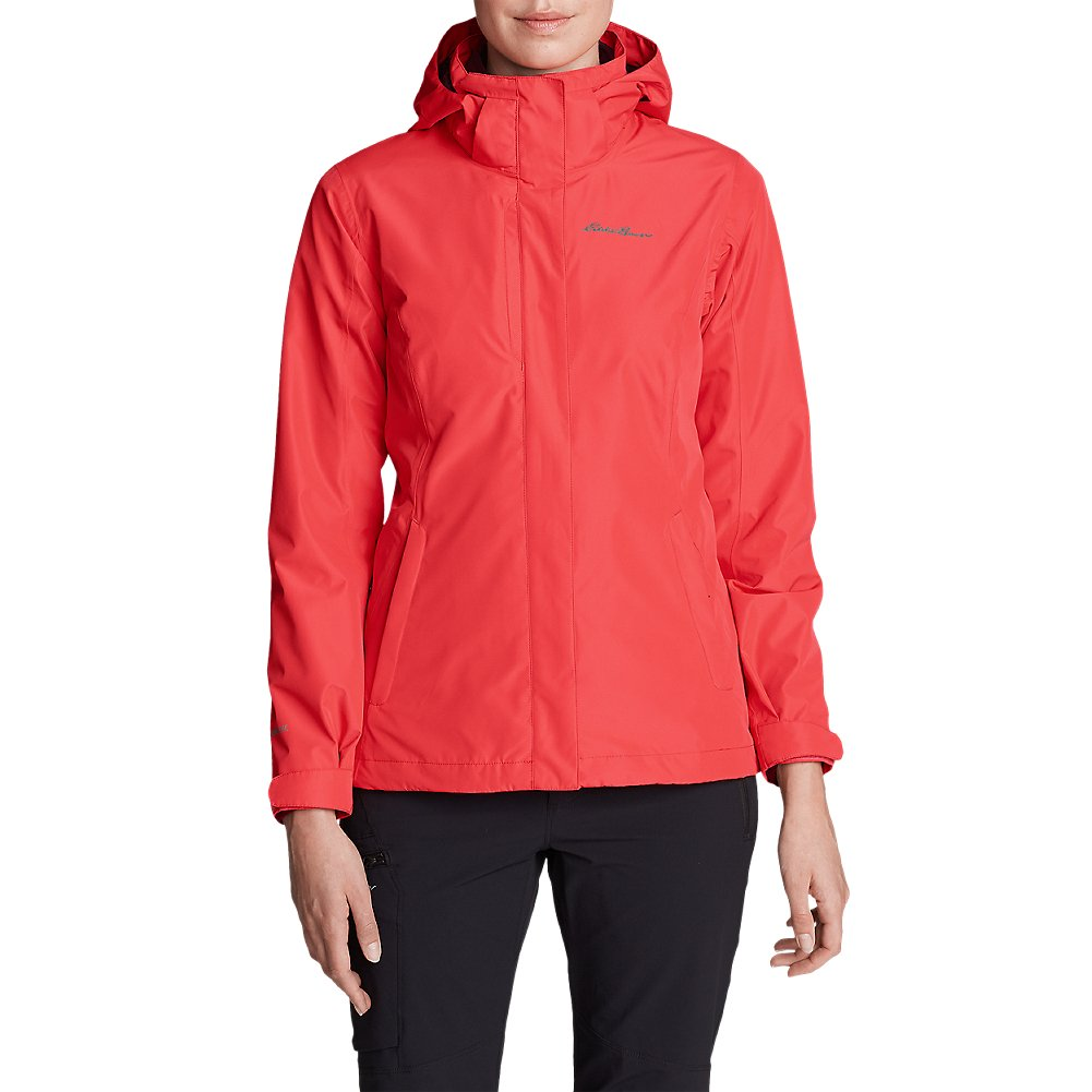 Eddie Bauer Women's Lone Peak 3-in-1 Jacket, Carnation Regular XL