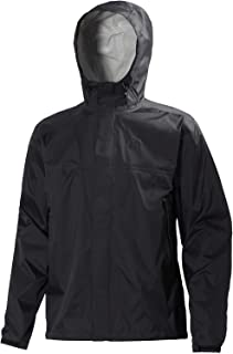 Helly Hansen Men's Loke Rain Jacket, Black, Large 62252