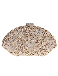 Fawziya Flower Ladies Hand Bags Evening Party Purses For Women's Evening Bags