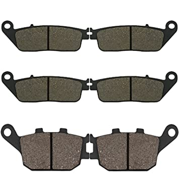 Automotive Cyleto Front and Rear Brake Pads for CBR600 CBR 600 F3 1995 1996 1997 1998 Brakes