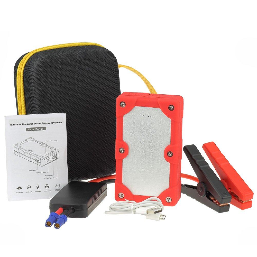 Avviatore di emergenza per Auto - Batteria Booster - Starter - Power Bank Portatile - Rosso MaledettaBatteria