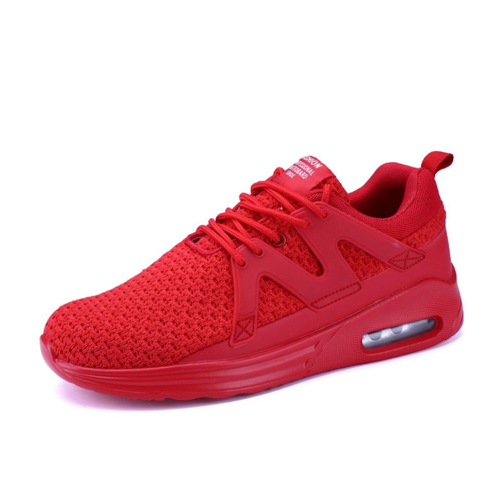 Senbore Chaussures de course Homme Respirant Mesh Entraînement Sport Sport Entraînement Basket 45 EU|Rouge-6 6624cb