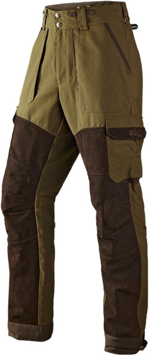 Harkila Pro Hunter X Cuero Pantalones Lago Verde/Sombra Marrón