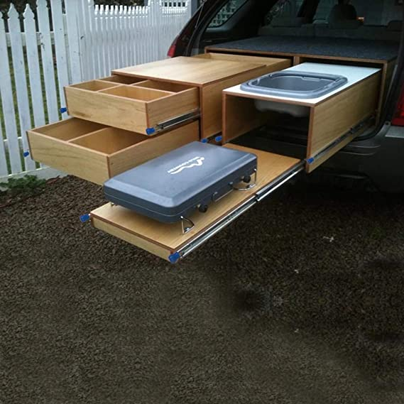 2-1//4 x 3//4 Wide Steel Full Extension Over Travel TCH Hardware 20 Heavy Duty 250 lb Drawer Slides