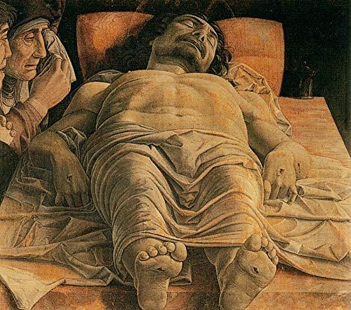 Andrea Mantegna The Lamentation Over The Dead Christ 1490 Pinacoteca di Brera 30