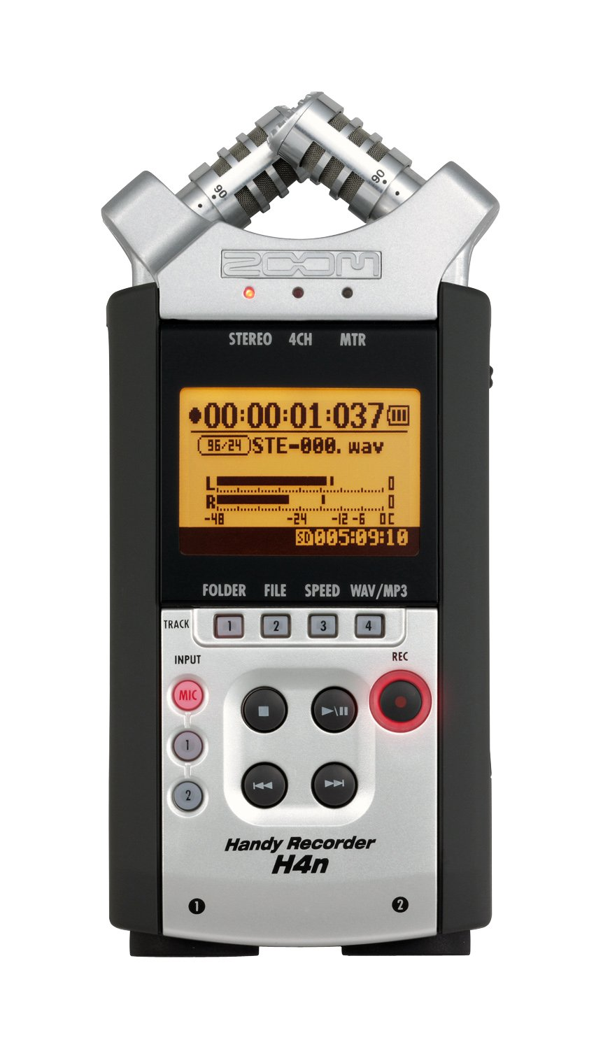 Zoom H4N Handy Portable Digital Recorder - 2009 Version Samson ZH4N